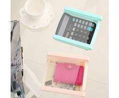 wjkuku multifunzione plastica cucina frigorifero Storage Box congelatore Mensola porta cassetti scorrevoli Spac cucina salvaspazio White