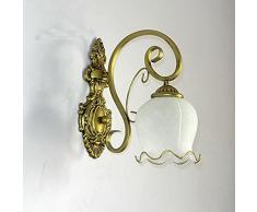Europeo-Applique da parete, stile Vintage, per soggiorno, camera da letto, sala da pranzo corridoio Lampada da parete Lampada da parete
