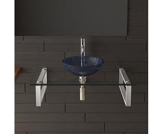 Lavabo/lavabo/lavaggio guscio/Alpi Berger/mobili da bagno in vetro/ripiano in vetro/lavabo