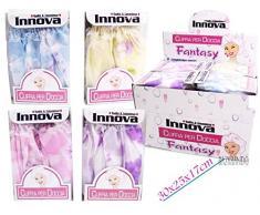 Cuffia elastica per doccia o bagno, protegge i capelli dall'acqua - adatta per palestra, casa ecc