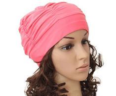 Cuffia da nuoto Butterme tappo berretto da spiaggia doccia grande Nylon traspirante pieghe da spiaggia anodizzate futurepast per donne con capelli lunghi alevros Rosa rosa