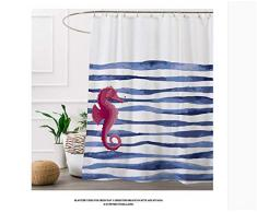 "Tende da doccia ,PEVA Tende da bagno Resistente alle muff Antibatterica Impermeabile con 12 Ganci Antiruggine, 180 x 200 cm (72 ""L x 78"" H) pollici Tenda per Bagno"