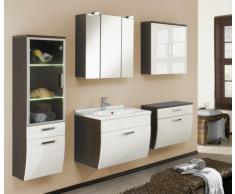Posseik 5611 77 Santana Mobiletto per lavabo in finto legno wengé colore: Bianco