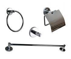 BATHSTAGE B-Smart–Set completo di accessori per bagno, 5pezzi