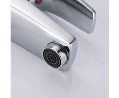 Retro rubinetto Mingjia bacino singolo foro lavabo rubinetto del bagno armadietto caldo e freddo rubinetto lavabo bacino