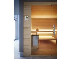 GRANDFORM BIO SAUNA sauna finlandese stufa elettrica 3 posti seduti (1 sdraiato) BIO PRO 1812 (cm. 180 x 120 x 208 H.)