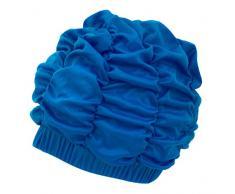 AQUA-SPEED® SHOWER CAP Cuffia di Doccia (Retro Protezione di bagno Nuoto), Colore:Royal Blue