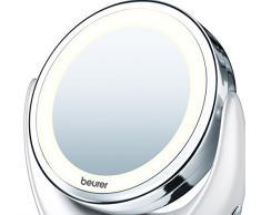 Beurer BS 49 Specchio Cosmetico Illuminato, 17,5 x 19 x 10 cm
