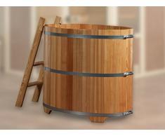 Weka Sauna immersione botte in legno di larice