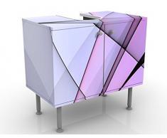 Mobile per lavabo design Excitation 60x55x35cm, Größe:55cm x 60cm