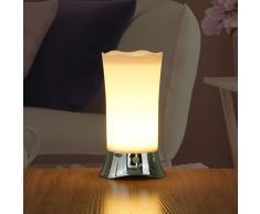 ZEEFO Lampade Luce Notturna da Tavolo LED Senza Fili PIR con Sensore di Movimento, Luce Portatile da Interni ed Esterni Alimentazione a Batteria con Sensore di Movimento, Luce di Sicurezza Luce da Scrivania per Camera Bambini,