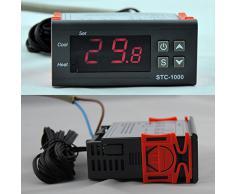 220V 10A Digitale Mini Digitale STC-1000 Sensore di temperatura del termostato relé di controllo del termostato TE054