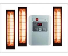 Sauna Alicia con SET lampade infrarossi