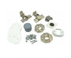 Genuine Ariston CDE129ALL LB12TUK lavatrice porta dell' armadio cerniere Decor installation kit
