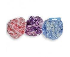 Accessori Bagno - Cuffie e retine Cuffia doccia impermeabile con fiori. Materiale: 100% Poliestere
