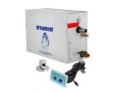 BuoQua 9KW Generatore Di Vapore Sauna Home Spa Doccia Generatore Di Vapore Per Bagno Turco Di Piccolo Volume Con Controller Digitale (9kw)