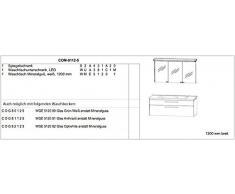 Cool Puris Line mobile da bagno Set/lavabo/base/2D-armadietto