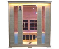 Sauna Infrarossi Finlandese Luxury 216x160 cm