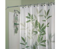 InterDesign Leaves Tenda Doccia, Tessuto, Verde, 183 x 183 cm