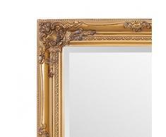 Selezionare specchi Rhone specchio da parete – French Vintage, stile rococò barocco – oro – 50 cm x 60 cm – shabby chic Home Decor by
