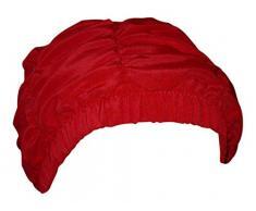 Fashy-Cuffia da doccia da donna, colore: rosso