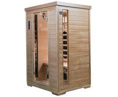 Saunamed 2 persona Classic Hemlock sauna a infrarossi lontani Emr Neutraltm