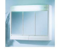 Euromedixx 59130011 - Saphir, Mobile pensile con specchio per bagno