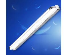 7 W LED specchio specchio luce IP44 Lampada applique per bagno acrilico paralume lampada per il bagno in acciaio inox, armadio Lampada da parete lampada da parete, bianco 6000 K, 490 Lumen, L 40 cm