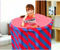 Z&HX-Sauna pieghevole portatile, sauna a infrarossi coperta, sauna personale Spa, perdita di peso per la sauna per le donne , blue