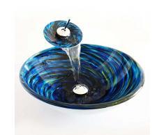 CAO Blue round materiale lavandino è vasca da bagno in vetro temperato