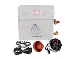 ECO-WORTHY 9 KW Generatore di Vapore Automatico/ Sauna Home Spa Doccia st-135 m Controlle