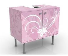 Mobile per lavabo design Airy Love 60x55x35cm, Größe:55cm x 60cm
