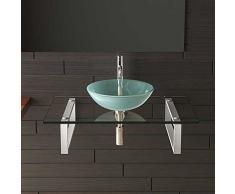 Vetro lavabo/lavabo/ciotola in vetro/bagno/Alpi Berger Serie 50/mobili in vetro/lavabo/lavaggio tavoli per il tuo Esclusivo bagno/Lavandino