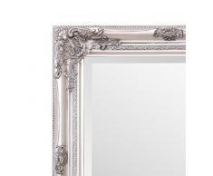 Selezionare specchi Rhone Specchio da Parete – French Vintage, Stile rococò Barocco – Argento – 60 cm x 90 cm – Shabby Chic Home Decor by