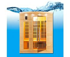 Apollo-Sauna a infrarossi, a 3 posti