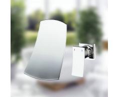 Galvanotecnica Retro rubinetto migliore vasca da bagno Tor Eira cascata montaggio a parete cromo lucido 8860 doccia bagno lavandino tippen Lei su Mixer rubinetto in ottone