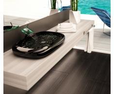 Mobile Arredo Bagno Piano Mensola per Lavabo d'appoggio legno disp. in vari colori Mobili