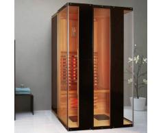 trade-line-partner Madeira Sauna Infrarossi per 2 persone calore cabina sauna a infrarossi
