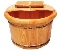 Pediluvio in legno, massaggio ai piedi vasca, pediluvio barile sauna a casa sauna tuta barile,A