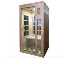 Sauna Infrarossi Finlandese Rimini 100x90 cm
