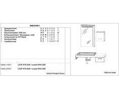 Puris Variado mobili da bagno Set/lavabo/armadietto/armadietto a specchio