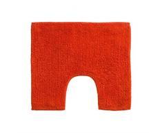Premier Housewares 1605310 Set di Tappetino da Bagno in Cotone, Arancione