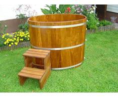 Sauna maschera vasca in legno kambala