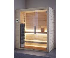GRANDFORM sauna finlandese stufa elettrica due posti seduti o un posto semisdraiato . TOWER PRO 1510 (cm. 150 x 100 x 208 H.)