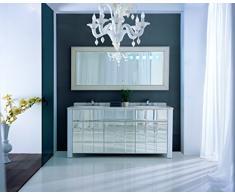 Marmo design di lusso bagno commode * * doppio lavabo unità doppio lavabo 54,5 x 81,4 x 174,3
