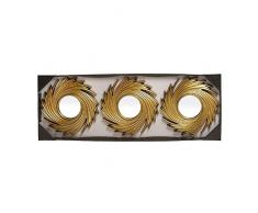 dcasa – Specchi da parete moda dorati per decorazione sole nascente