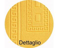 CASA TESSILE Torino Tappeto Bagno in Spugna 60X90 cm. - Bianco