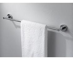 Haceka 25090110 Kosmos, Porta asciugamani cromato, 60 cm