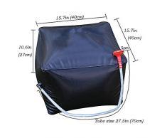 40 litri / 10 galloni Doccia solare sacchetto esterno d'escursione di campeggio di Camp doccia portatile leggero Doccia Borsa per uomini e donne