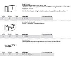 pelipal Huevo 3 pezzi set di mobili da bagno/lavabo/Sotto l' armadietto/armadietto a specchio/Comfort n
